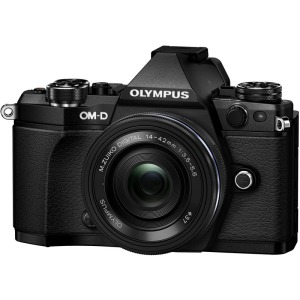 PEN - Цифрова системна фотокамера Olympus E-M5 mark II Pancake Zoom 14-42 Kit Black/Black - фото 4