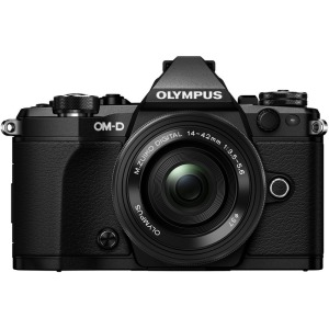 Цифрова системна фотокамера Olympus E-M5 mark II Pancake Zoom 14-42 Kit Black/Black