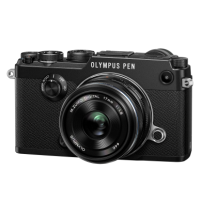 Цифрова фотокамера Olympus PEN-F 1718 Kit blk/blk