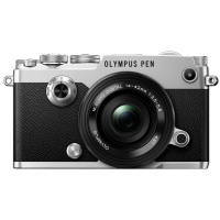 Цифровая фотокамера Olympus PEN-F Pancake Zoom 14-42 Kit Silver/Black