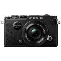 Цифровая фотокамера Olympus PEN-F Pancake Zoom 14-42 Kit Black/Black