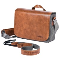 Сумка Olympus OM-D Messenger Bag Leather + Strap