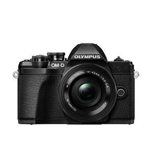 Цифровая камера OLYMPUS E-M10 mark III Pancake Zoom 14-42 Kit black