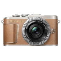 Цифровая камера Olympus E-PL9 14-42 mm Pancake Zoom Kit Brown/Silver