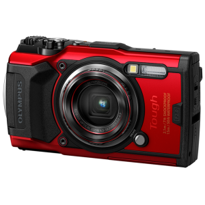 Tough - Цифровая камера Olympus TG-6 Red (Waterproof - 15m; GPS; 4K; Wi-Fi) - фото 2