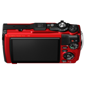 Tough - Цифровая камера Olympus TG-6 Red (Waterproof - 15m; GPS; 4K; Wi-Fi) - фото 8
