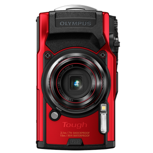 Tough - Цифровая камера Olympus TG-6 Red (Waterproof - 15m; GPS; 4K; Wi-Fi) - фото 10
