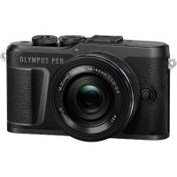 Цифровая камера Olympus E-PL10 14-42 mm Pancake Zoom Kit Black/Black