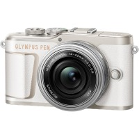 Цифровая камера Olympus E-PL10 14-42 mm Pancake Zoom Kit White/Silver