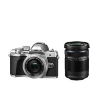 Цифровая камера OLYMPUS E-M10 mark III Pancake Double Zoom 14-42+40-150Kit S/S/B