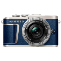 Цифрова камера Olympus E-PL9 14-42 mm Pancake Zoom Kit Blue/Silver