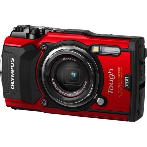 Цифрова камера OLYMPUS TG-5 Red (Waterproof - 15m; GPS; iHS;Wi-Fi) + case