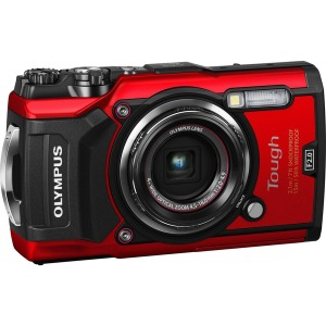 Tough - Цифрова камера OLYMPUS TG-5 Red (Waterproof - 15m; GPS; iHS;Wi-Fi) + case - фото 2