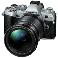 Цифрова системна фотокамера Olympus E-M5 mark III 12-200 Kit Silver/Black