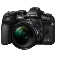 Цифрова фотокамера Olympus E-M1 mark III 12-40 Kit Black/Black